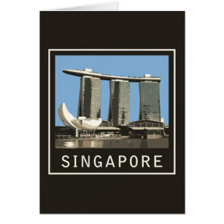 Singapore Marina Bay Sands Greeting Card