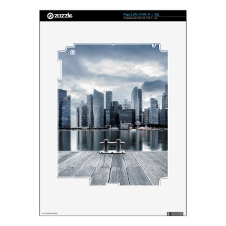 Singapore marina decals for the iPad 2