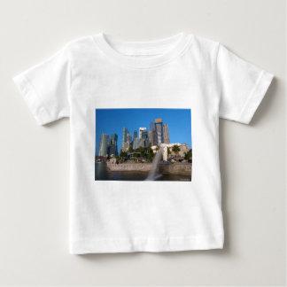 Singapore- Merlion Park Baby T-Shirt