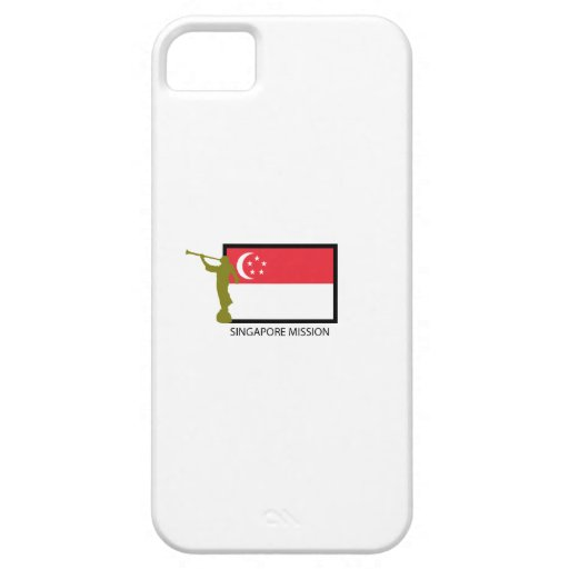 SINGAPORE MISSION LDS CTR iPhone 5 COVER