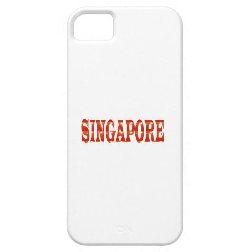 SINGAPORE: National Pride n celebraTING DIVERSITY iPhone 5 Cover
