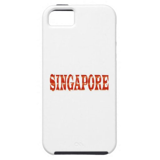 SINGAPORE: National Pride n celebraTING DIVERSITY Cover For iPhone 5/5S