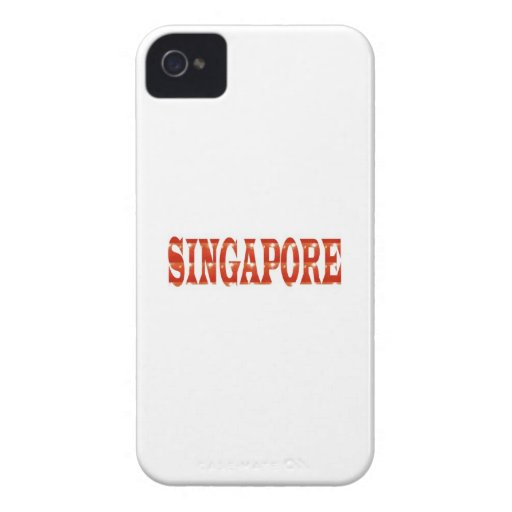 SINGAPORE: National Pride n celebraTING DIVERSITY iPhone 4 Cases