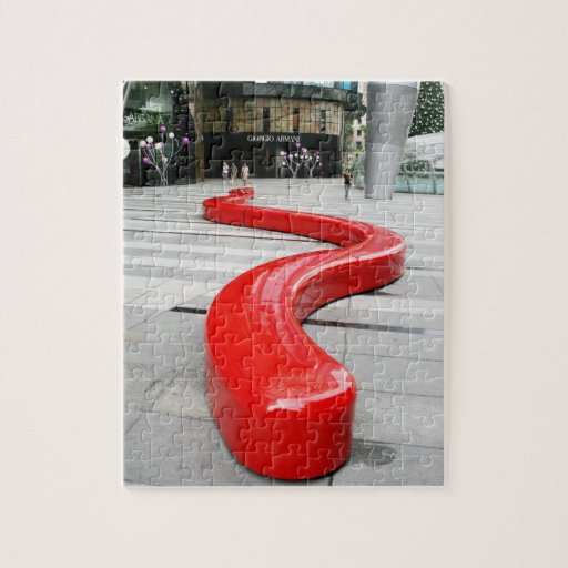 Singapore Orchard Road Jigsaw Puzzle