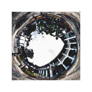 Singapore - Polar Exposed Canvas Print
