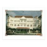 SINGAPORE RAFFLES HOTEL POSTCARD