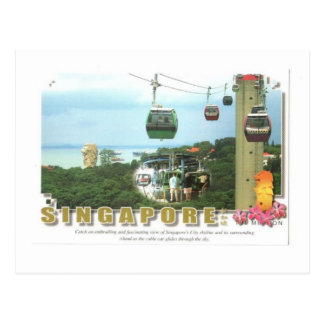 Singapore Resort World Sentosa Postcard