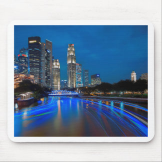 Singapore River Cruise Mouse Pad