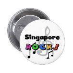 Singapore Rocks Buttons