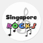 Singapore Rocks Stickers