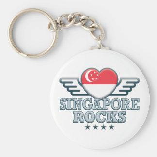 Singapore Rocks v2 Key Chains