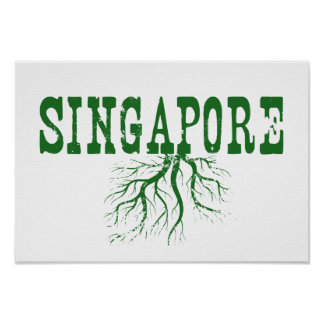 Singapore Roots Poster