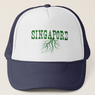 Singapore Roots Trucker Hat