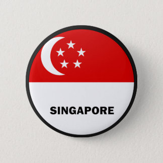 Singapore Roundel quality Flag Button
