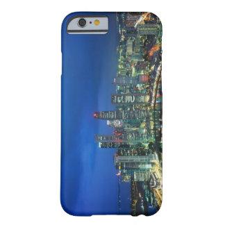 Singapore Skyline at night, Singapore iPhone 6 Case