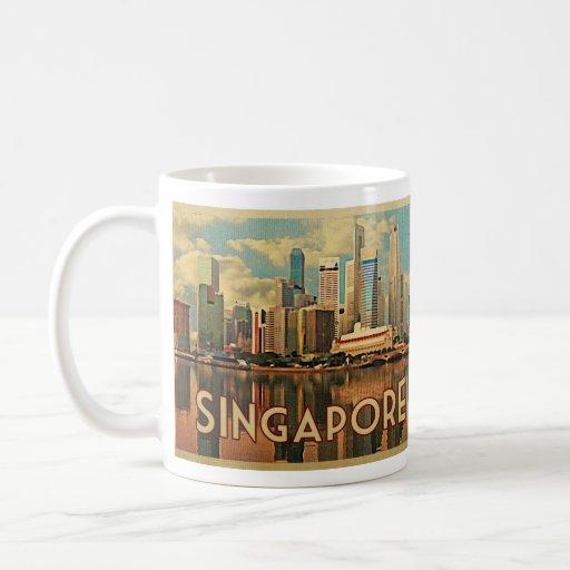 Singapore Skyline Classic White Coffee Mug