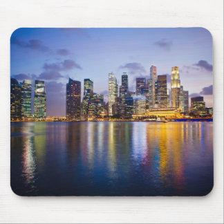 Singapore Skyline Mouse Pad