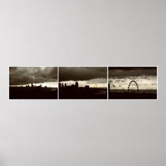 Singapore Skyline No3 Print