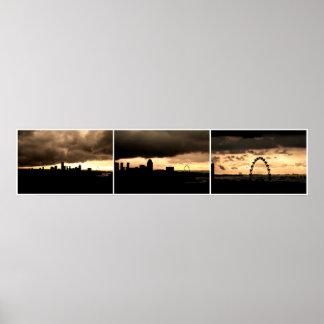Singapore Skyline No4 Print