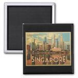 Singapore Skyline Refrigerator Magnet