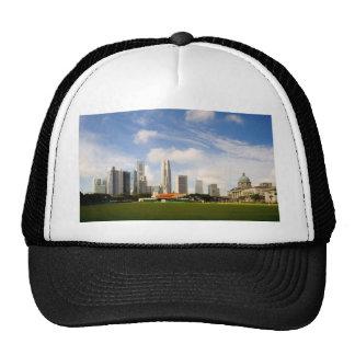 Singapore skyline trucker hats