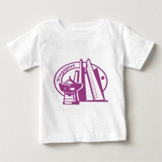 Singapore Stamp Baby T-Shirt