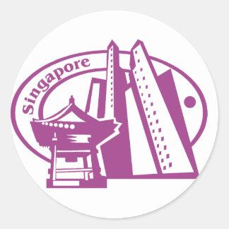Singapore Stamp Stickers