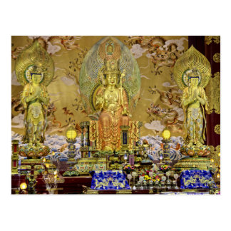 Singapore, The Buddha Tooth Relic Temple Postcard