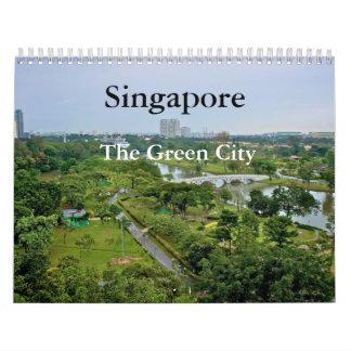 Singapore - The Green City Calendar