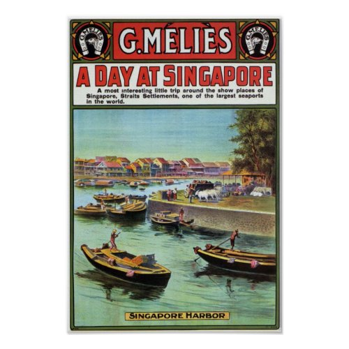 Singapore Vintage travel brochure