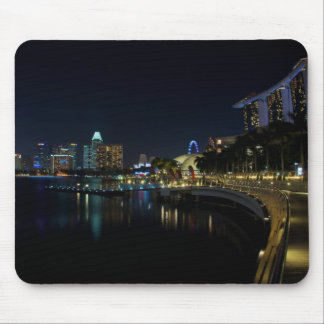Singapore Walkway by the Bay Mousepad