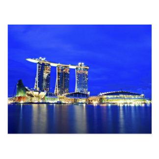 Singapore Waterfront Postcard