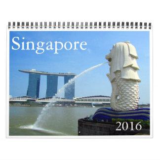 Singapur 2016 calendario