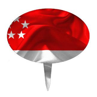 Singapur-Bandera Figuras Para Tartas