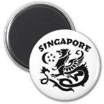 Singapur Imán De Frigorifico