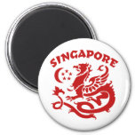 Singapur Imán De Nevera