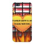 Singapur, si el amor de mi país es un pecado iPhone 5 cárcasas