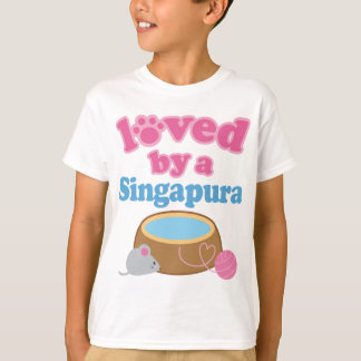Singapura Cat Breed Loved By A Gift T-Shirt