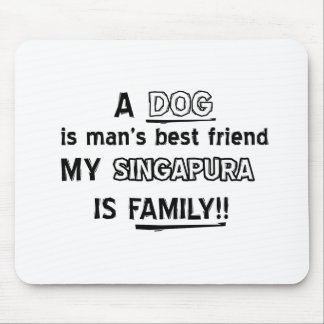 SINGAPURA Cat Designs Mouse Pad