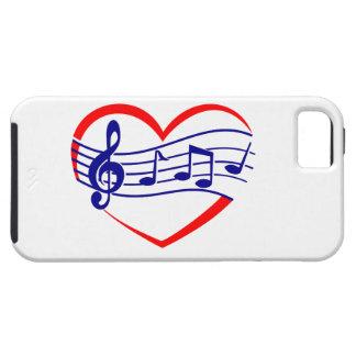 singendes Herz singing heart iPhone 5 Schutzhüllen