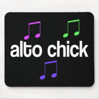 Singer Alto Chick Mouse Pad