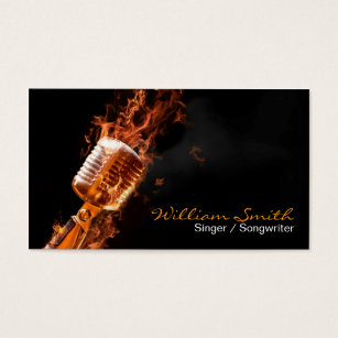 Music manager gifts on zazzle singer business card colourmoves