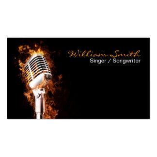 Singer Business card Tarjeta Personal