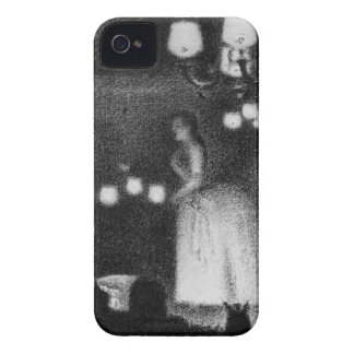 Singer by Georges Seurat iPhone 4 Case-Mate Case