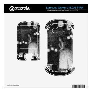 Singer by Georges Seurat Samsung Gravity 3 Decals