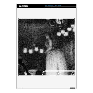 Singer by Georges Seurat PS3 Slim Decal