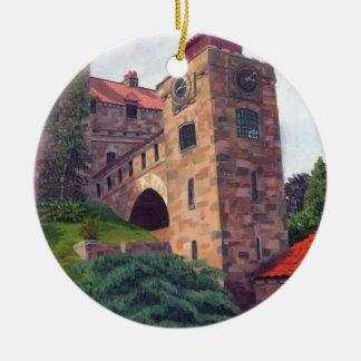 Singer Castle 1000 Islands Ceramic Ornament