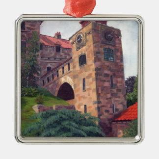 Singer Castle 1000 Islands Metal Ornament