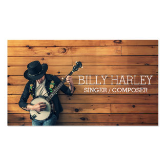 Singer Composer Musician Business Card Pack Of Standard Business Cards