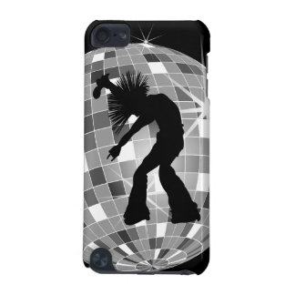 Singer & Dancer Silhouette On Disco Ball iPod Touch 5G Case